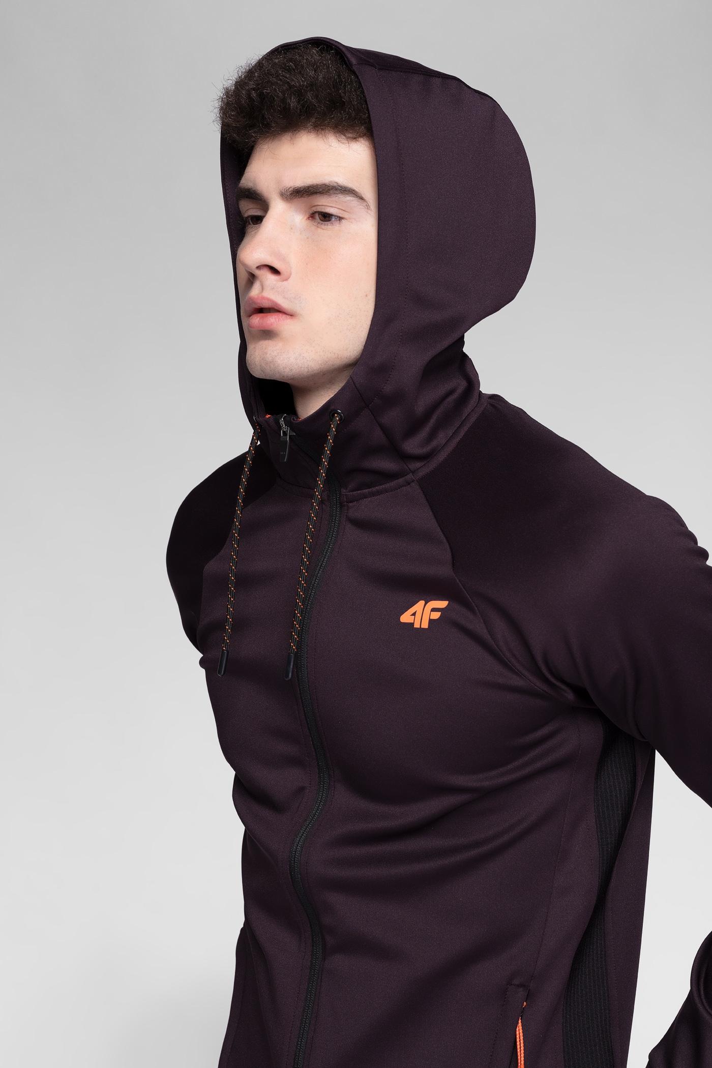a6415d11 Men's active hoodie BLMF274 - burgundy