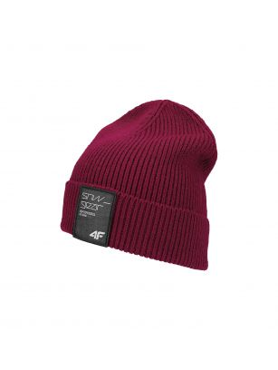 Men's hat CAM250 - burgundy