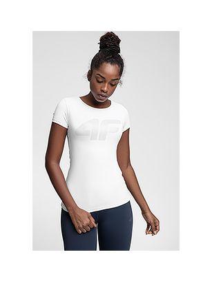 Women's active T-shirt TSDF107 - white