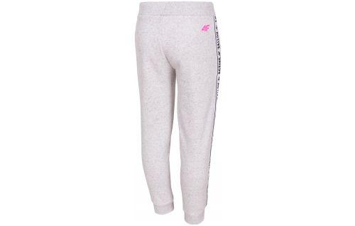 Sweatpants for younger children (girls) JSPDD210 - light melange
