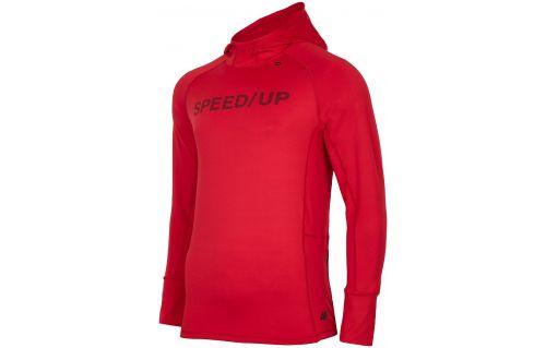 Men's active hoodie BLMF251 - red