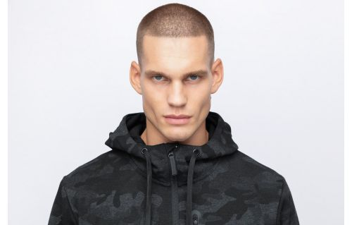 Men's hoodie BLM202 - black allover