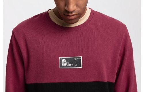 Men's sweatshirt TSML261 - burgundy