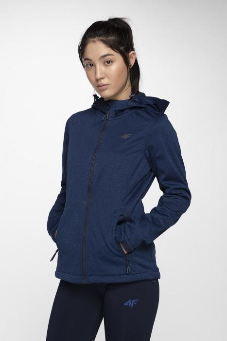 e4c8e70da Women's softshell jacket SFD001 - navy blue melange