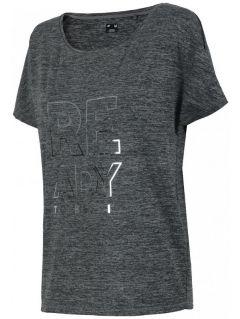 Women's active T-shirt TSDF206 - salt&pepper
