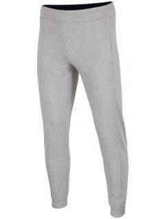 Men's sweatpants SPMD001 - light grey melange