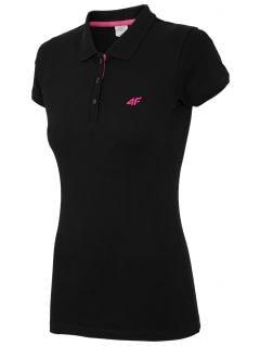 Women's polo shirt TSD017 - black