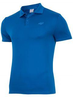 Men's active polo shirt TSMF004 - dark blue