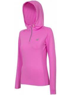 Women's active hoodie BLDF001 - neon pink