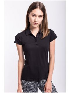 Women's polo shirt TSD050 - black