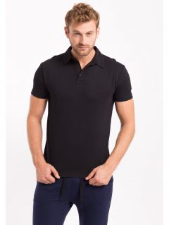 Men's polo shirt TSM050 - black