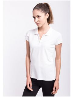 Women's polo shirt TSD051A - white