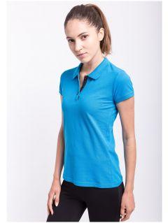 Women's polo shirt  TSD051A - light blue