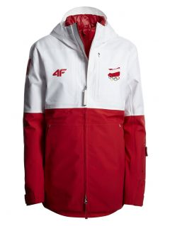 Men's functional jacket 3in1 Poland PyeongChang 2018 KUM900R - white