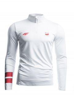 Men's long sleeve T-shirt Poland PyeongChang 2018 TSMLF900 - white