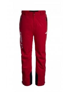 Men's ski pants Serbia Pyeongchang 2018 SPMN700 - cherry red