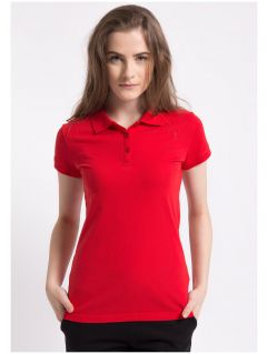 Women's polo shirt TSD051A - red