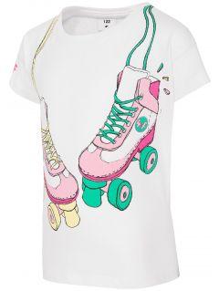 T-shirt for small girls JTSD104 - white