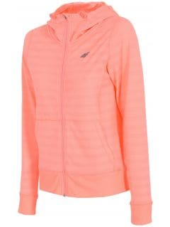 Women's active sweatshirt  BLDF002 - coral