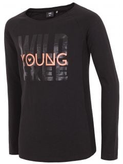 Longsleeve for small girls jtsdl104 - black