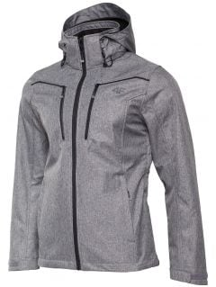 Men's softshell jacket SFM003 - gray melange
