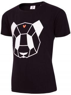 T-shirt for small girls Jtsd102c - black