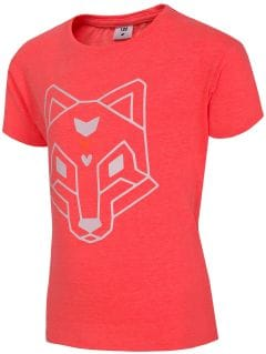 T-shirt for small girls Jtsd102 - coral neon