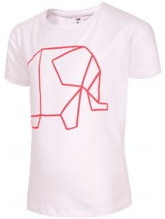 T-shirt for small girls Jtsd102b - white