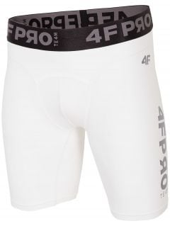 Men's baselayer shorts 4FPRO SPMF404 - white