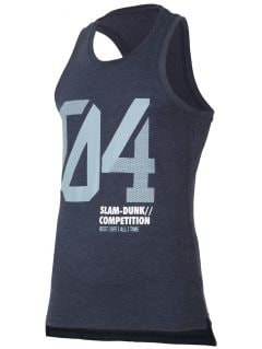 Men's tank top tsm008 - denim melange