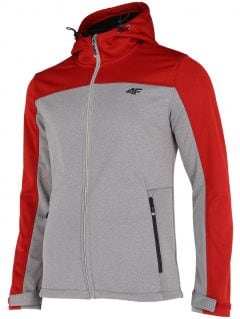 Men's softshell jacket SFM002 - gray melange