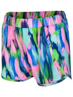 Beach shorts for big girls JSKDT201A - multikiolor