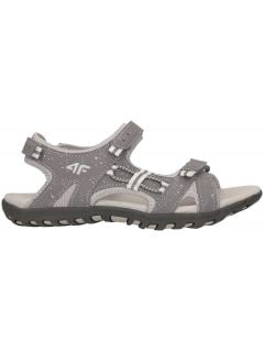 Sandals for small girls JSAD100 - medium grey