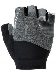 Cycling gloves RRU003 - dark grey melange