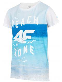 T-shirt for small boys jtsm127 - white