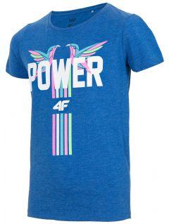 T-shirt for small girls JTSD110 - cobalt blue