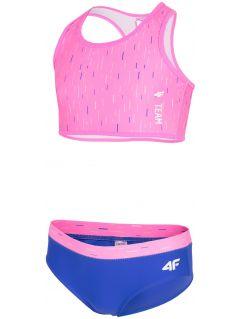 Swimsuit for small girls jkos103 - pink