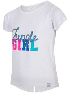 T-shirt for small girls jtsd111 - white