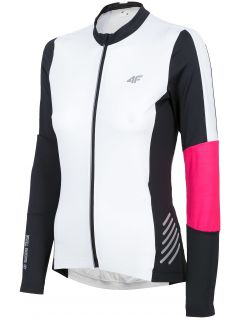 Women's cycling jersey RKD150 - white