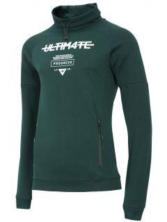 Men's sweatshirt BLM214 - dark green