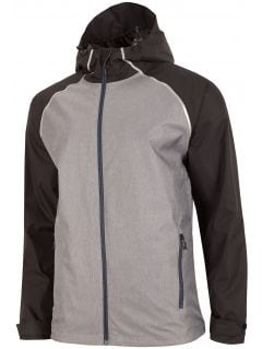Men's jacket KUM201 - grey melange