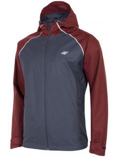 Men's jacket KUM201 - navy blue melange