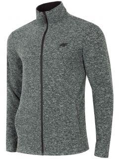 Men's fleece sweatshirt PLM304 - navy melange