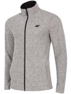 Men's fleece sweatshirt PLM304 - grey melange