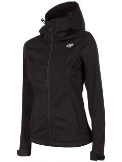 Women's softshell jacket SFD300 - deep black
