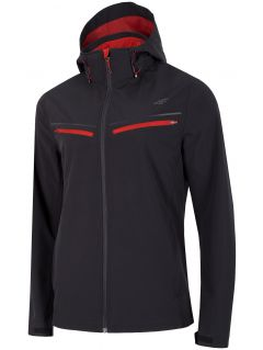 Men's softshell jacket SFM201 - deep black