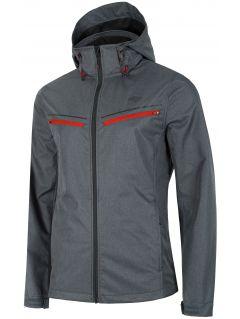 Men's softshell jacket SFM201 - dark grey melange