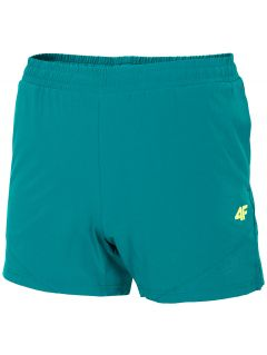 Men's workout shorts SKMF200 - teal
