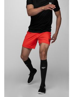 Men's workout shorts SKMF291 - red