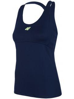 Women's functional T-shirt TSDF205 - navy